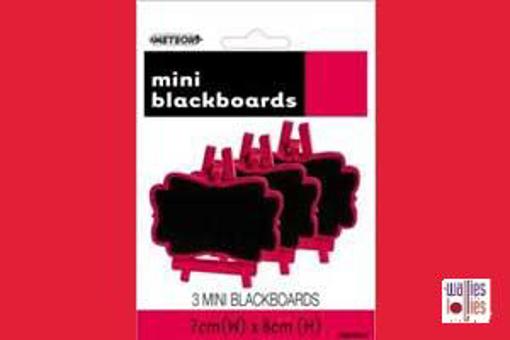 Red Mini Chalkboards