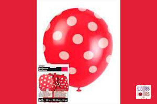 Red Spot Balloons
