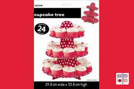 Red Spot Cupcake Stand