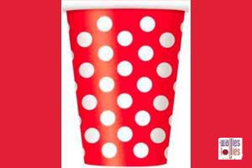 Red Spot Cups