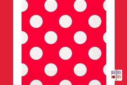 Red Spot Napkins