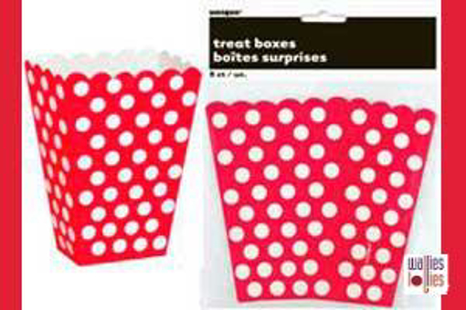Red Spot Treat Boxes