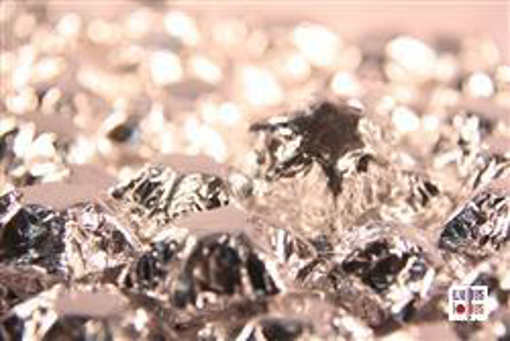 Silver Foiled Stars in 500g Bag