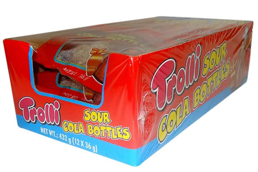 TROLLI SOUR COKE BOTTLES 12 PACK - PRE ORDER