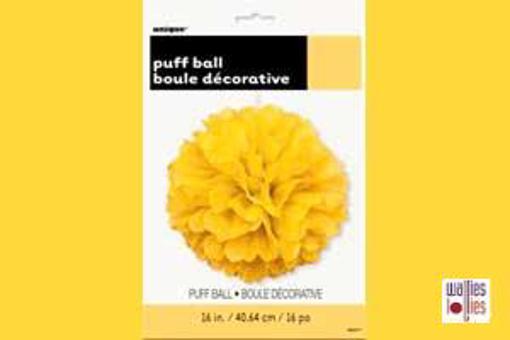 Yellow Large Puff Ball