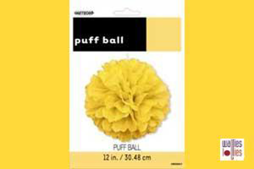Yellow Small Puff Ball