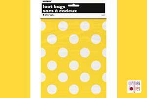 Yellow Spot Loot Bags