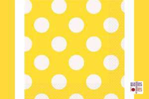 Yellow Spot Napkins