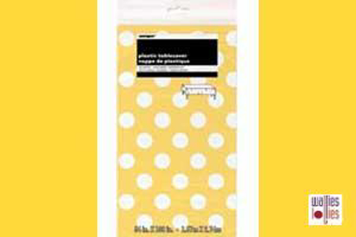 Yellow Spot Table Cloth