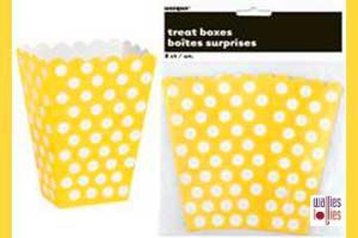 Yellow Spot Treat Boxes