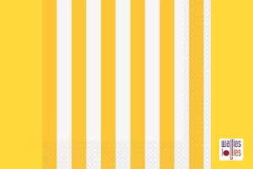 Yellow Stripe Napkins