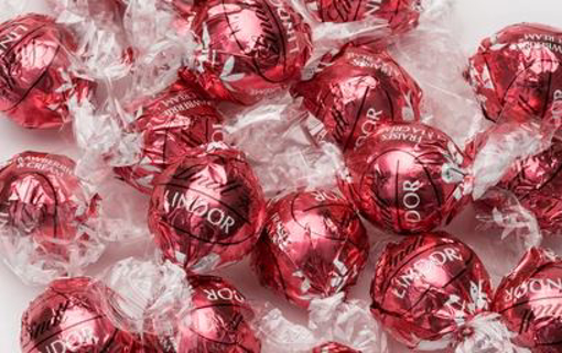 Picture of Lindt Balls - Strawberry & cream 500g