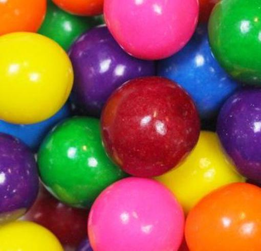 Picture of Gum Balls in 12kg carton