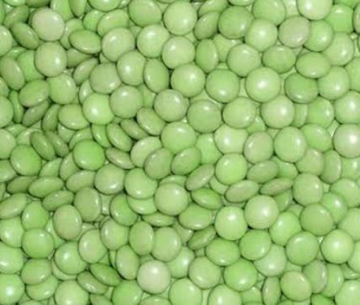 Picture of Green Choc Beans in 500g bag