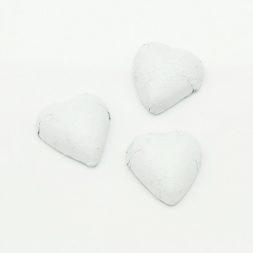 Picture of Pearl Foiled Hearts in 500g Bag