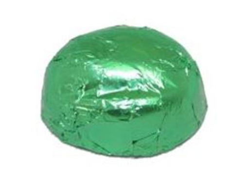 Picture of Domes - Green Foiled in 1kg Bag (PRE-ORDER)
