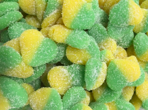 Picture of Sour Apple Hearts in 200g bag