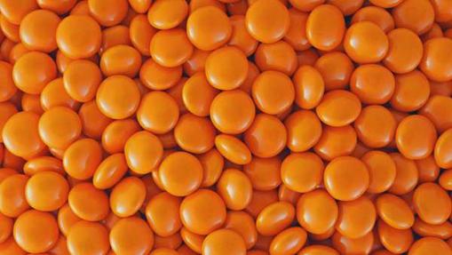 Picture of Orange Choc Beans in 500g bag