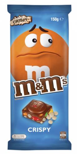 Picture of M&M's crispy 150g Block