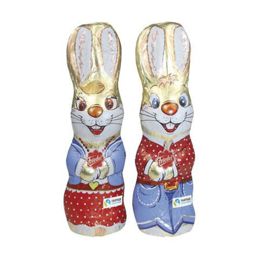 Picture of Friedel Fair Trade Milk 60g Chocolate Bunny