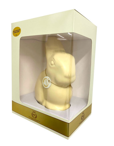 Picture of 650G White Chocolate Sitting Rabbit