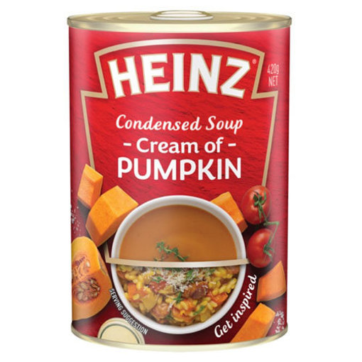 Picture of HEINZ Condensed Cream of Pumpkin Soup 420g