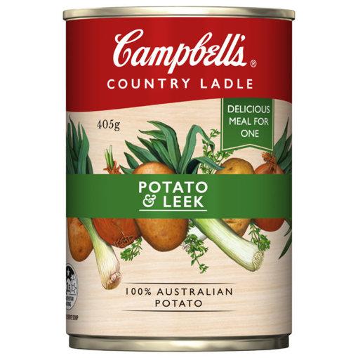 Picture of CAMPBELLS Potato & Leek Soup 405g