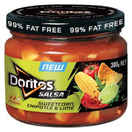 Picture of DORITOS Salsa Sweetcorn, Chipotle & Lime 300g