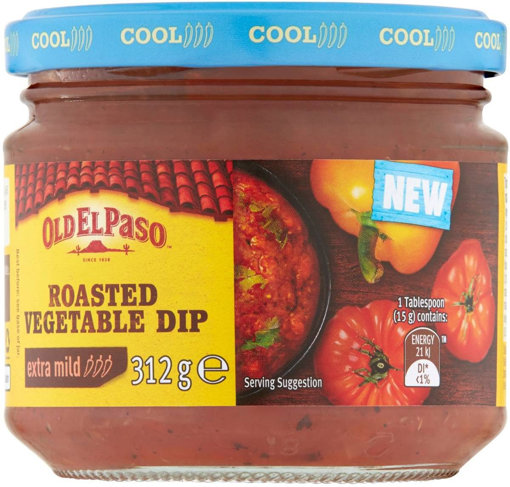 Picture of OLD EL PASO Roasted Vegetable Dip 312g