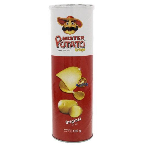 Picture of MISTER Potato Crisps Original 160g