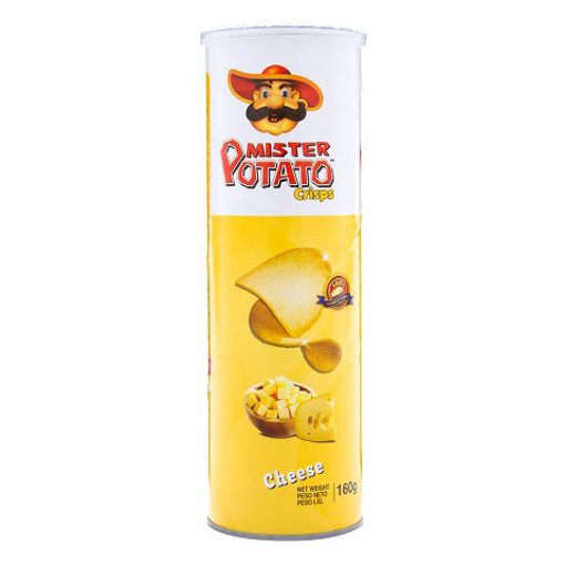 Picture of MISTER Potato Crisps Cheese 160g