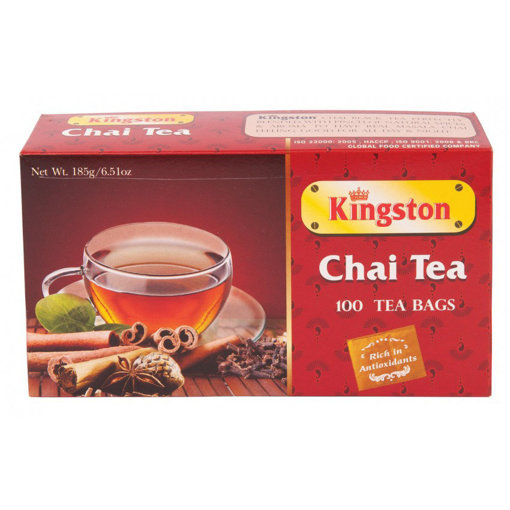 Picture of KINGSTON Chai Tea 100pk