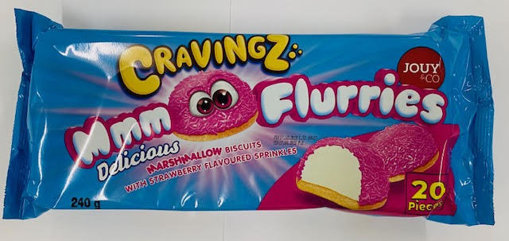Picture of Cravings MMM flurries - Strawberry