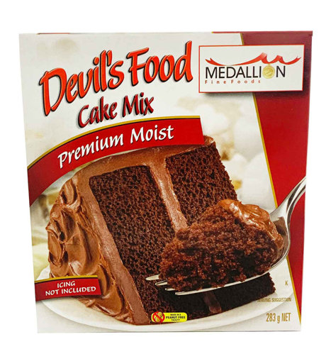 Picture of DEVILS FOOD CHOCOLATE CAKE MIX