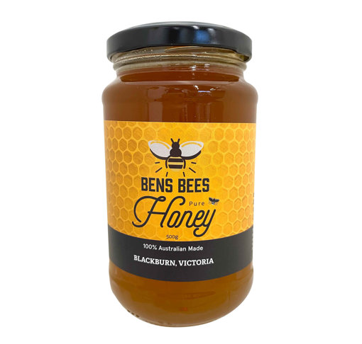 Picture of Pure Organic Honey 500g