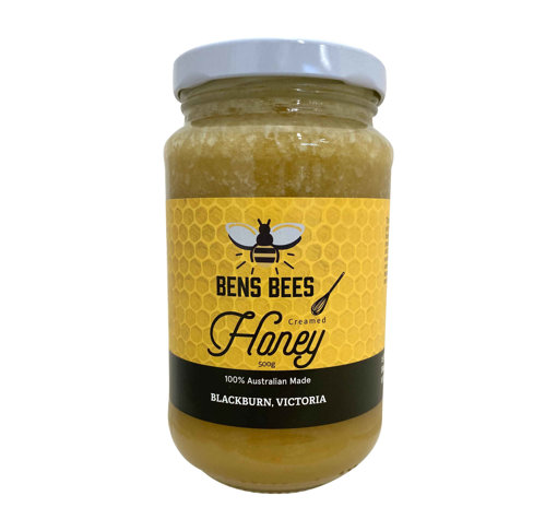 Picture of Pure Organic Creamed Honey 500g