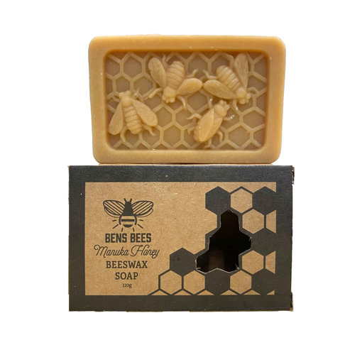 Picture of Manuka Honey Beeswax Soap 110g