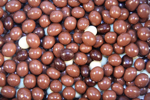 Picture of Mixed Choc Coffee beans in 150g bag