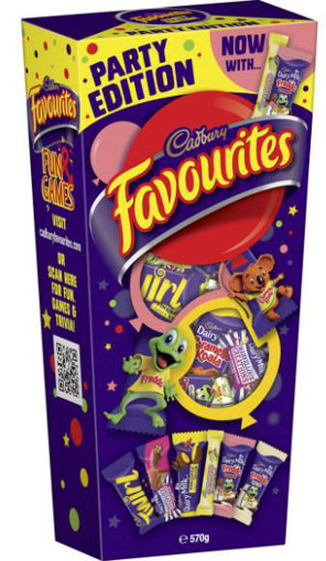 Picture of Cadbury Favourites 570g Party Edition