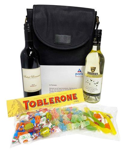 Picture of Premium Oil Skin Wine Bag