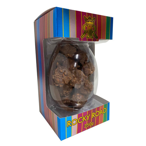 Picture of Milk Chocolate Rocky Road Egg 250g